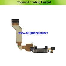 Cable de carga de carga Flex para iPhone 4S con micrófono