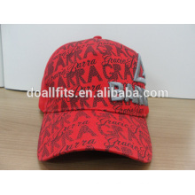 2014 cap factory, 5 panel printing & 3D embroidery baseball cap