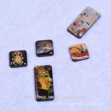 custom egypt high quality tourist souvenir crystal epoxy fridge magnets for promotional toys