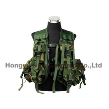 Tactical Paintball Combat macio Gear Molle Airsoft Military Vest (HY-V037)
