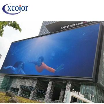 Pantalla de video publicitaria LED ultra brillante para exteriores P10