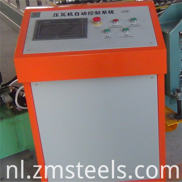 Galvanized Roofing Sheet Roll Foming Machine