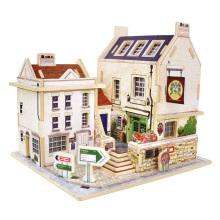Brinquedos de brinquedos de madeira para o Global Houses-Britain Bar