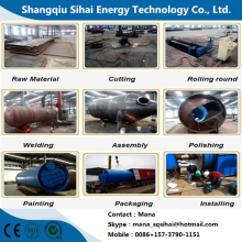 Waste Plastic Cracking Machine in Cooling System