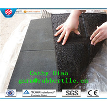 Colorful Rubber Paver Tile/Recycle Rubber Tile/Outdoor Rubber Tile/Wearing-Resistant Rubber Tile