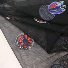 Stickerei Mesh Stoff für Mode Kleidungsstück