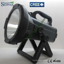 Projecteurs rechargeables haute puissance à grande portée CREE LED Flash Light 30W 2000lumens / 3000lumens
