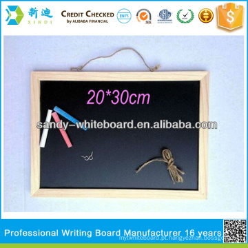 Quadro-negro com quadro de madeira 30 * 40cm personalizado chalkboards