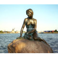 Garden Life Size Mermaid Sculpture For Sale