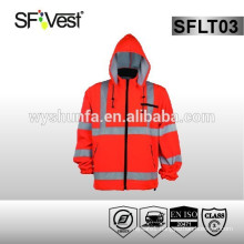 high quality sweatshirts two colors with 100% polyester fleece conform to EN ISO 20471
