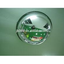 Espejo convexo de la bóveda llena de la seguridad de acrílico de la mitad de 180 grados, los 30-100cm