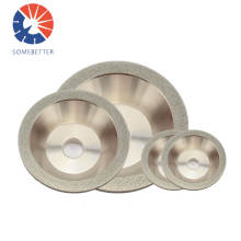Hardware Electroplated Diamond/cbn Grinding Wheel For Grinding Carbide