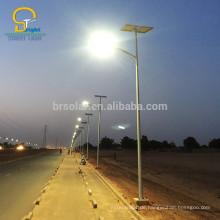 80w Wind Solar-Hybrid-Straßenbeleuchtung 60W 70W 90W 100W Solarstrom-Beleuchtungssystem