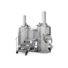 Équipement de brasserie de bière artisanale en acier inoxydable 500L
