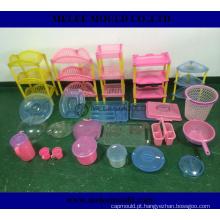 China modelagem por injeção plástica para as peças da cesta