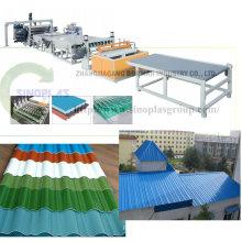 Ligne de tuile de toit en plastique