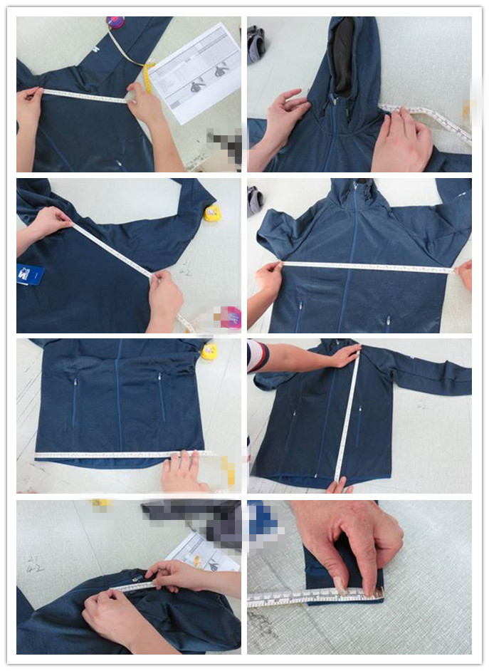 Sport Jacket Quality Inspection