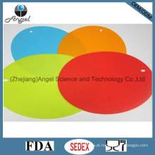 Placa de proteção anti-deslizamento de silicone, tapete de café de silicone Em10