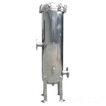 Carcasa del filtro de bolsa de acero al carbono / acero inoxidable 304