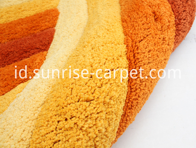 Soft Microfiber Shaggy Carpet Flooring
