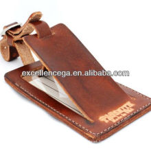 Genuine leather luggage tag,hottest!!!