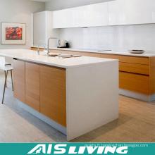 Armoires de cuisine de finition de mélamine de porte de PVC norme australienne (AIS-K728)