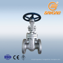 wholesale a105 forged steel gate valve 75mm hand wheel operated gate valve