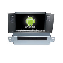 Android 7.1Car Navigation GPS avec wifi, bluetooth, GPS, écran Hp, Radio pour une seule Din Citroen C4L / DS4