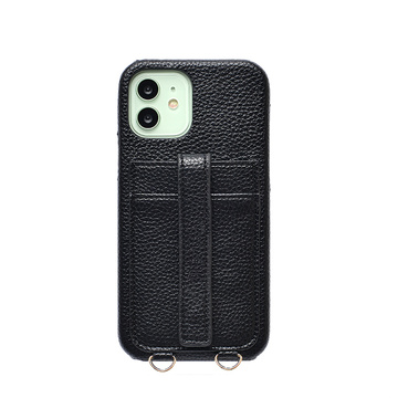 2020 Hot Selling Pebble Leather Case voor iPhone 12 Pro Max