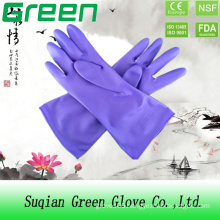 Cheap Purple Household Washing Glove