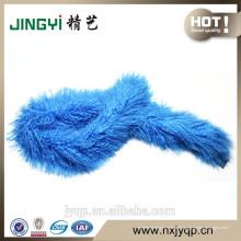 2017 Großhandel Weich Tibet Mongolischen Lammfell Schal