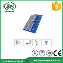 Schienensystem und Komponenten für Sonnenkollektoren
