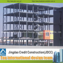 Structures en acier multi-étages pour bureau ou marché