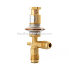 Hot gas bypass constant pressure expansion valves