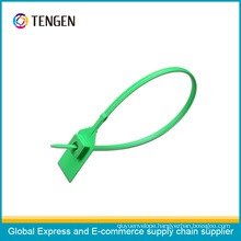 Plastci Security Seal with Barcode and Seal Number Type 6