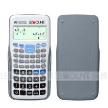 Calculadora científica de la función 240 con la contraportada que resbala (LC782MS)