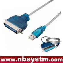 USB zu Parallel 36 Pin Centronics Drucker Kabelkabel