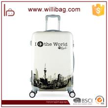 Equipaje de viaje de lujo de la carretilla equipaje de aluminio bolsas de equipaje
