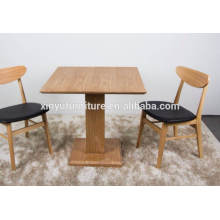 Hotel restaurant wooden table and chair XYN277