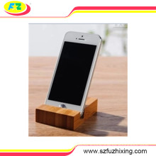 Flexible Wooden Mobile Phone Stand Holder for Phone Devices