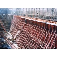 Односторонняя опора для опалубки бетонных стен