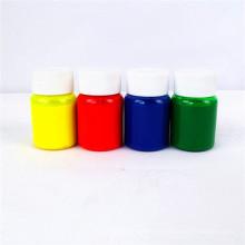 Pasta de cor de pigmento para impressão têxtil de tela / uso de látex