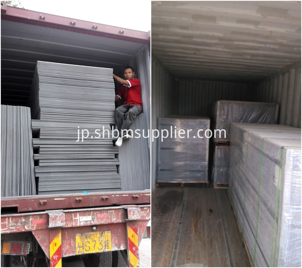 package of cement board