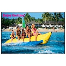 Schau! Eye Catching PVC Material 16'5 '' Aufblasbares Boot Bananenboot