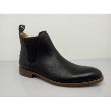 Elastic Band Flat Mens Ankle Boots (NX 536)