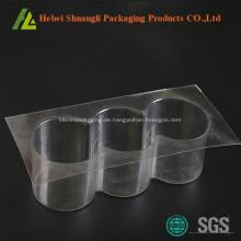 Runde Plastikschalenkuchen-Verpackungskästen