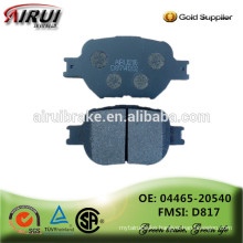 High quality Brake pads , auto parts Chinese manufacturer (OE: 04465-20540 / FMSI: D817)