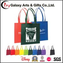Personalizado reciclado saco de Tote impresso não tecido / barato Shopper Tote Bag