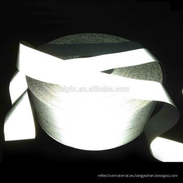 Cinta reflectante de 5 cm de cinta de poliéster