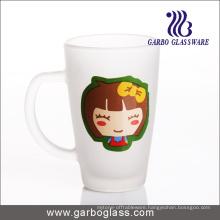 12oz Imprint Frosted Glass Mug (GB094212-DR-112)